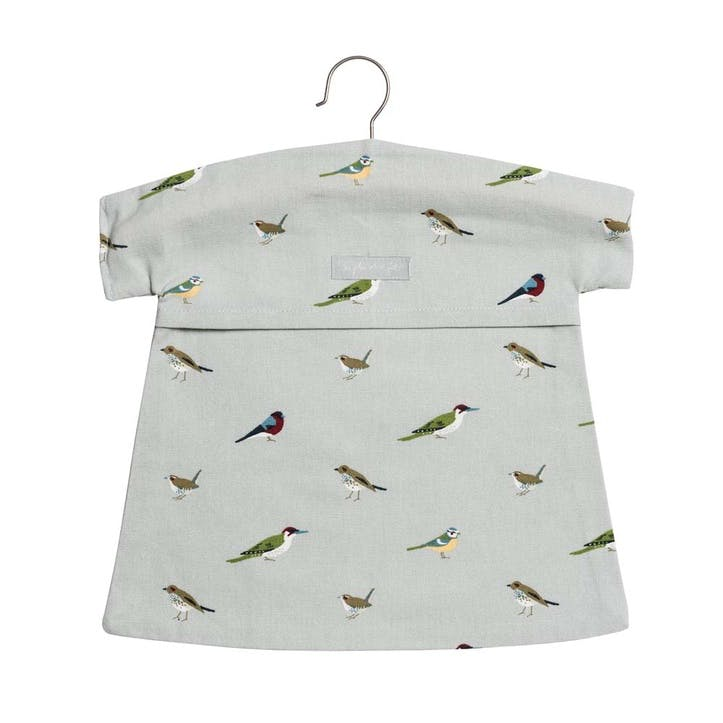 'Garden Birds' Peg Bag
