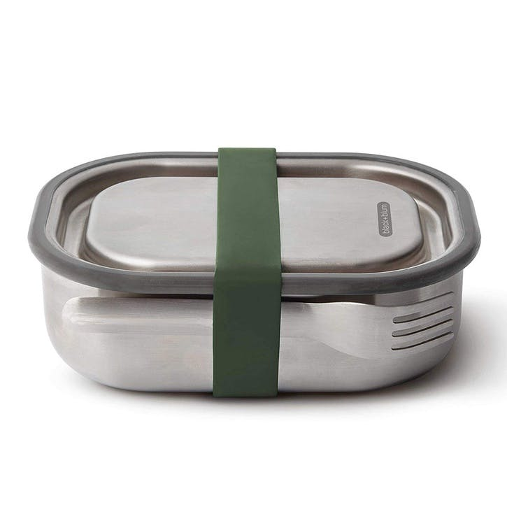 Stainless Steel Lunch Box, 1L, Olive