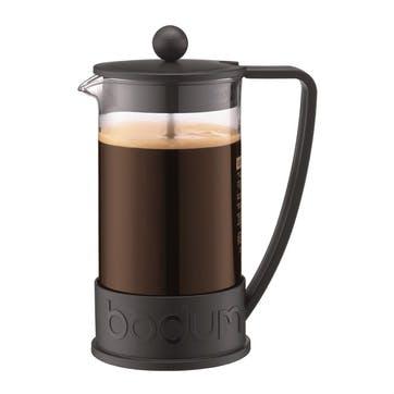 Brazil, 8 Cup Coffee Maker, 1 Litre, Black