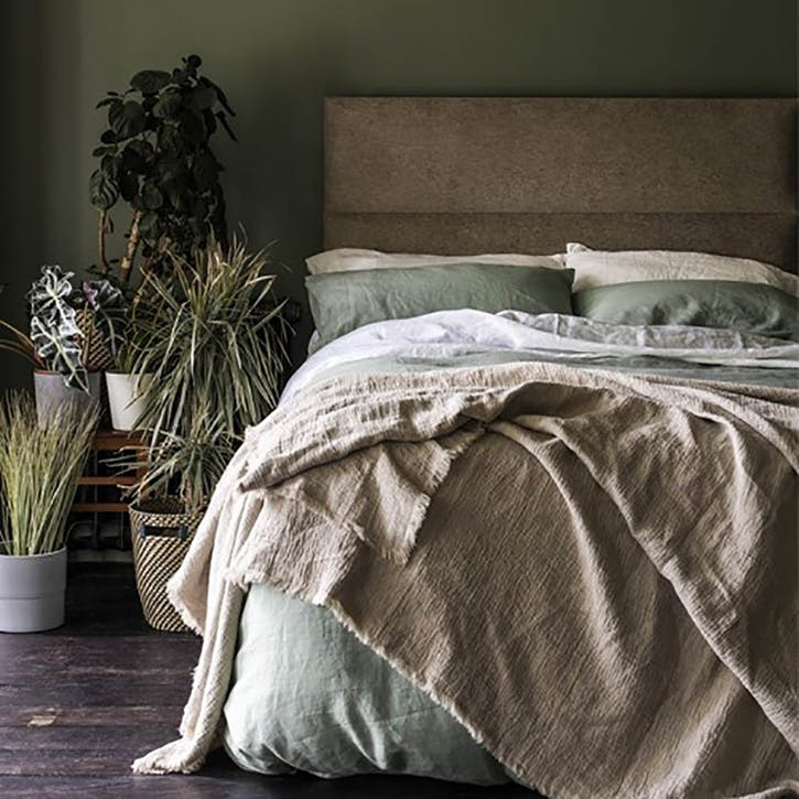 Super King Duvet Cover Sage Green