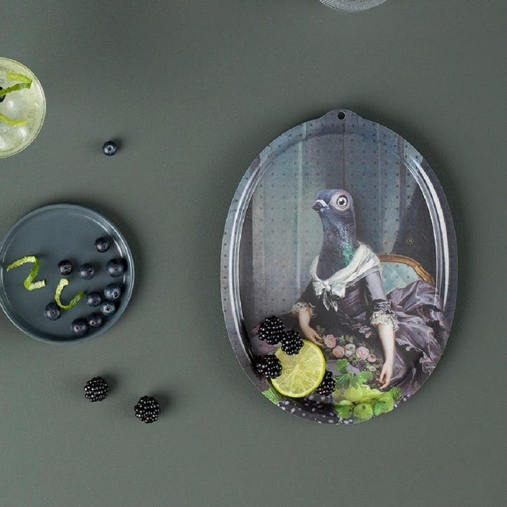 Galerie de Portraits Oval Tray, Isild