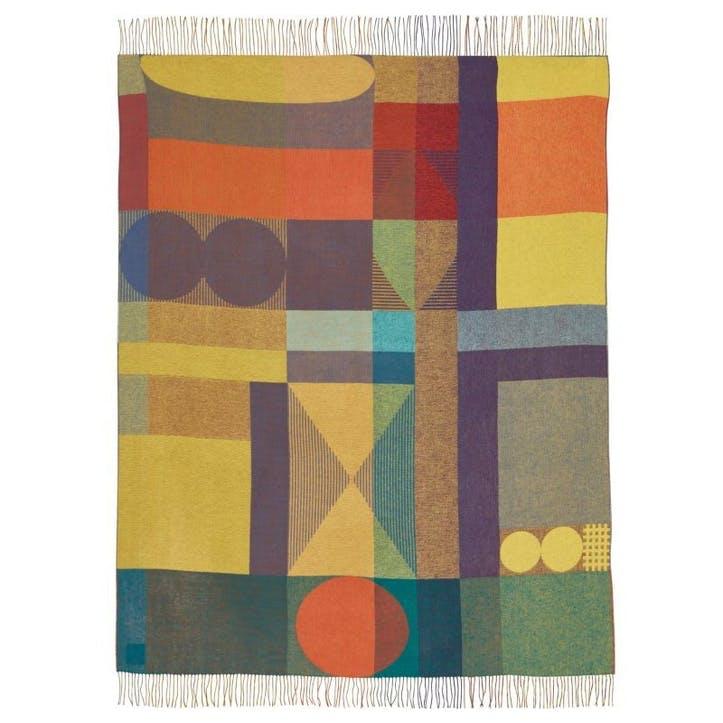 Carnival Throw 185 x 145cm, Multi Colour