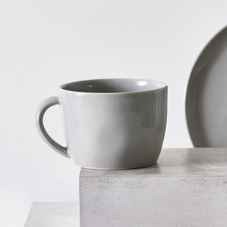 Portobello Mug, Grey