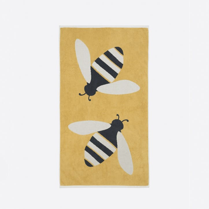 Buzzy Bee Hand Towel