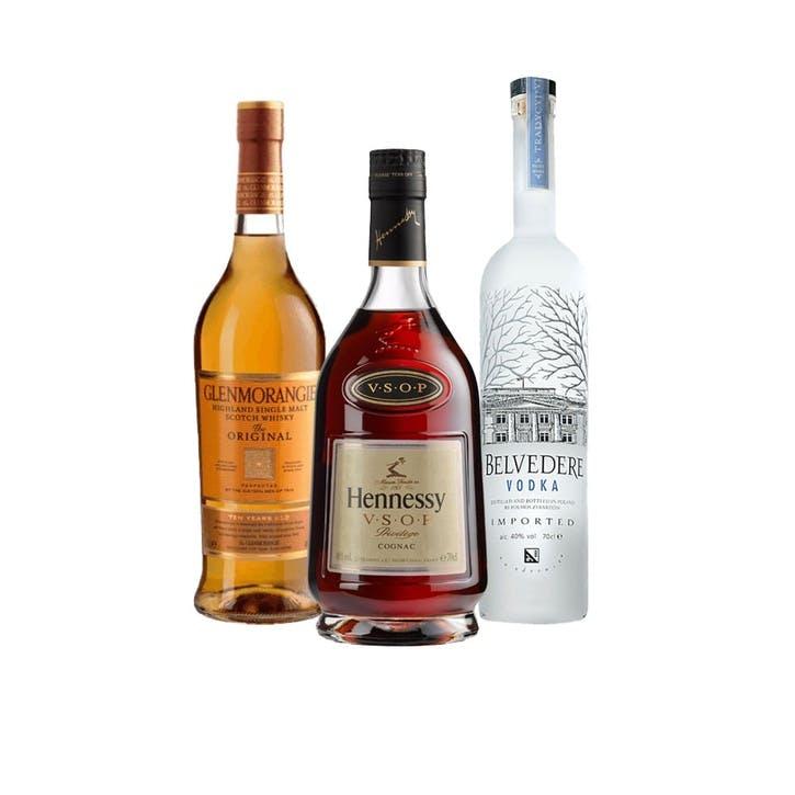 Cocktail Lovers Spirit Set