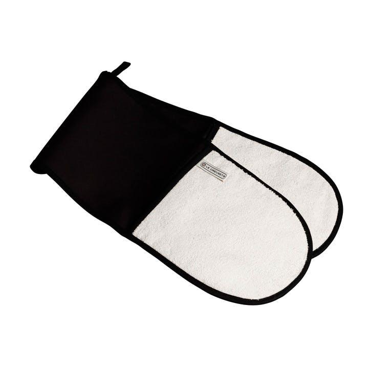 Double Oven Glove; Black