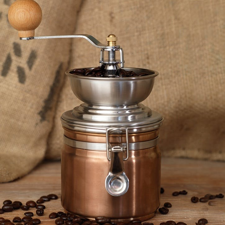 Origins Coffee Grinder, Copper