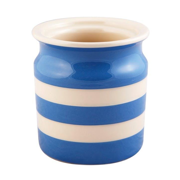 Utensils Jar, 30oz/84cl, Blue