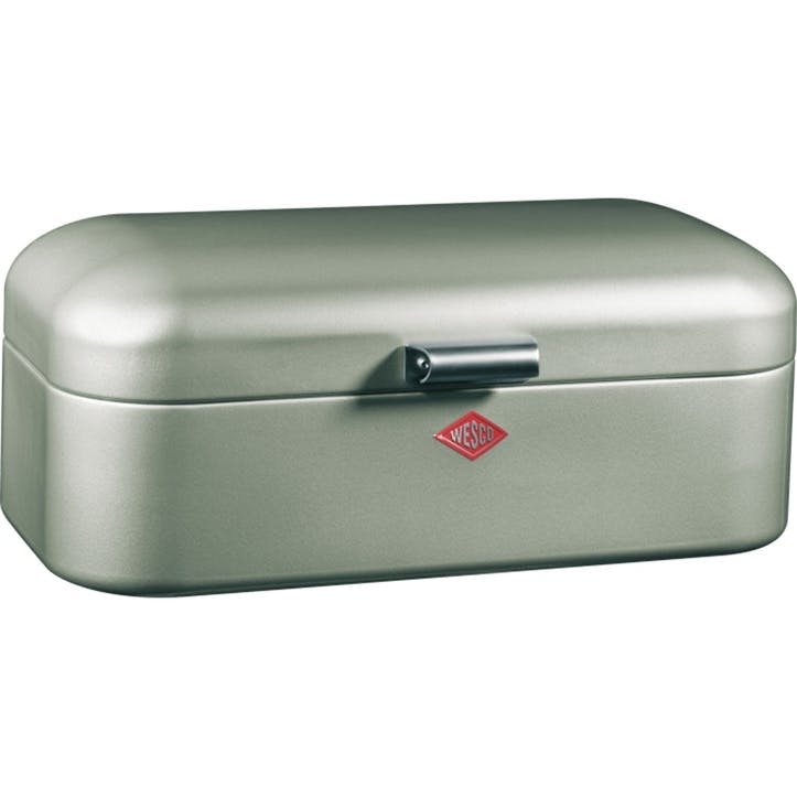 Grandy Bread Bin, New Silver