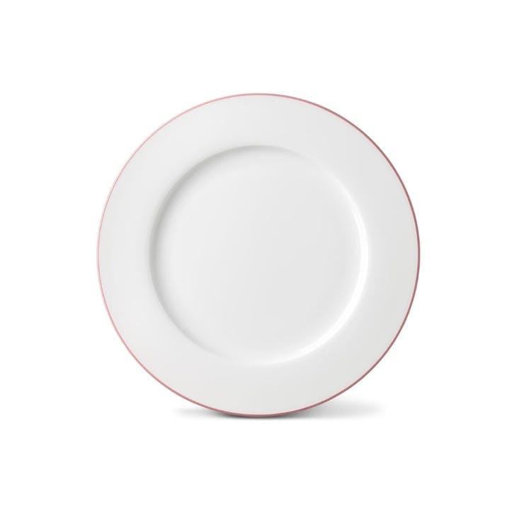 Rainbow Dinner Plate, Rose Pink