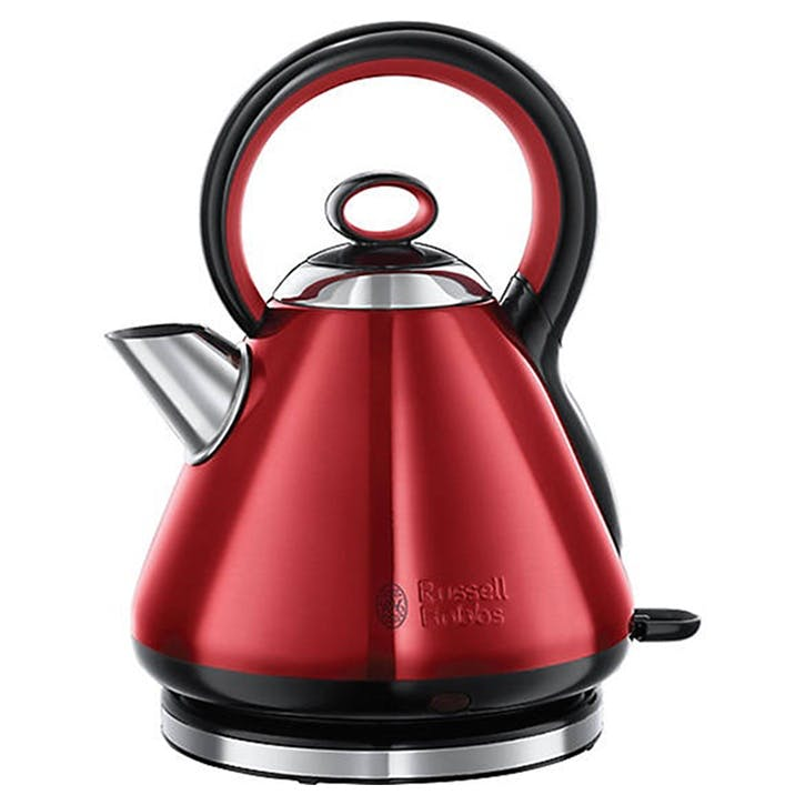 Legacy Quiet Boil Kettle; Red