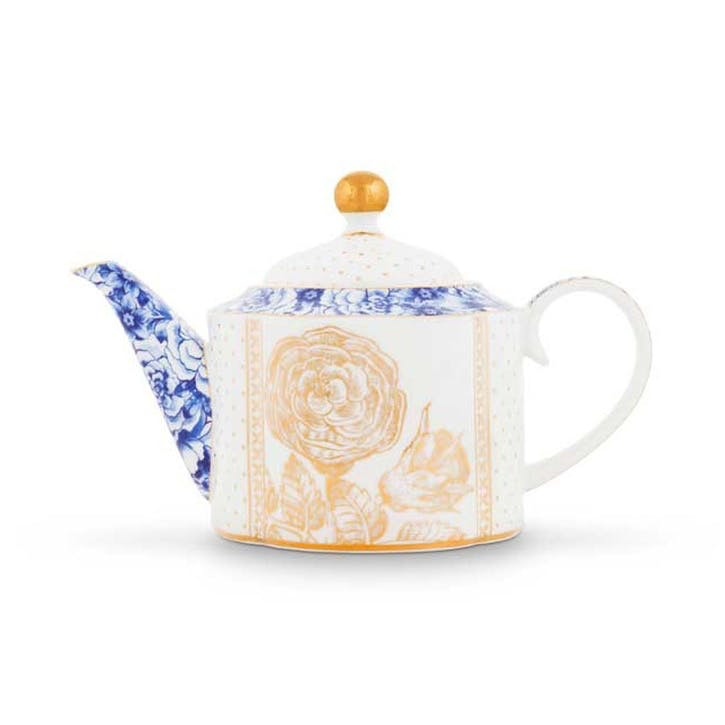 PiP Royal White Teapot, Small