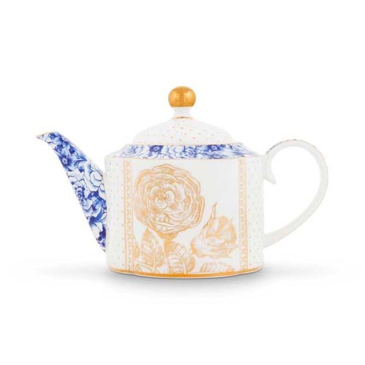 PiP Royal White Teapot, Small