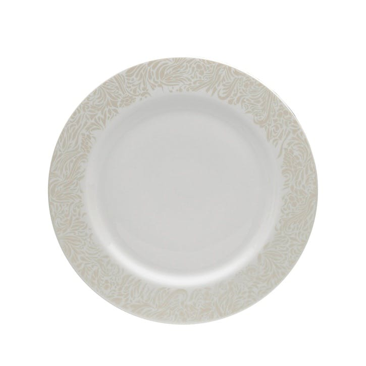 Lucille Gold Dinner Plate, 28.5cm