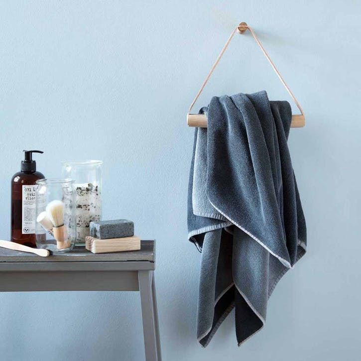 Towel Hanger, Natural Oak
