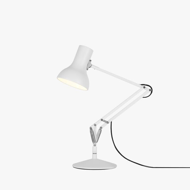 Mini Desk Lamp Alpine White