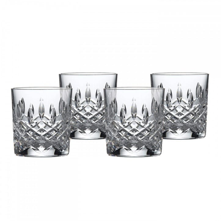 Highclere Double Old Fashioned Tumbler, Set of 4