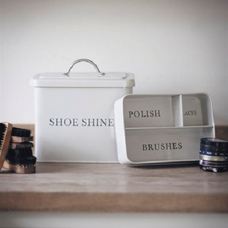 Shoeshine Box in Chalk