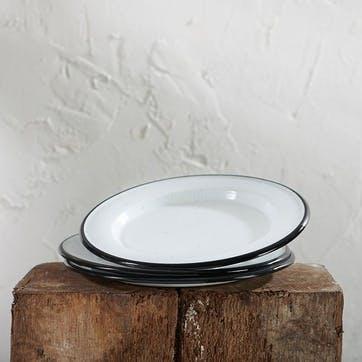 Abessa Enamel Dinner Plate