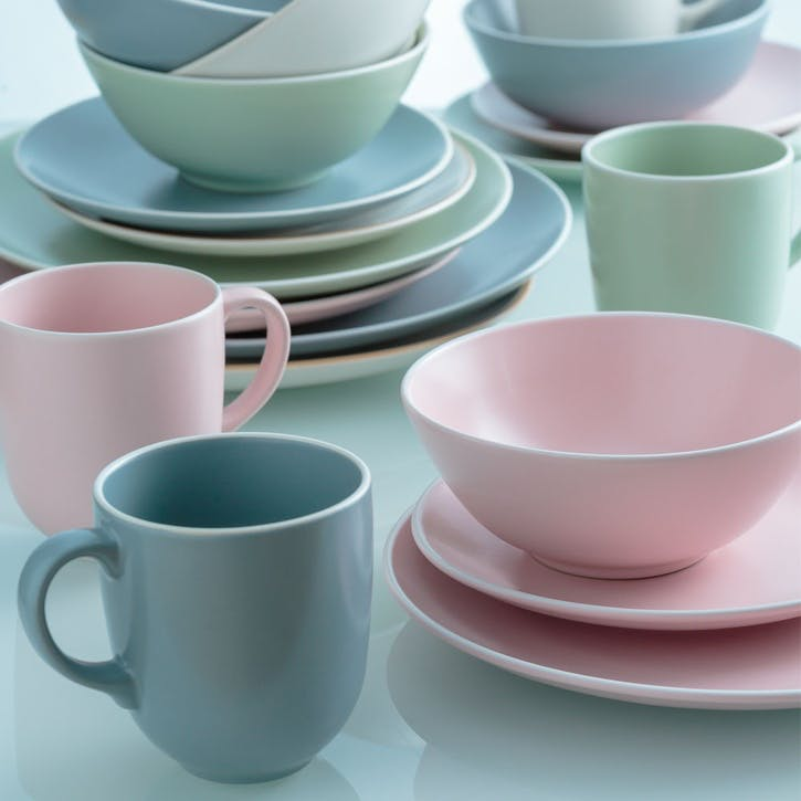 Classic Collection Bowl, Pink, Set of 4