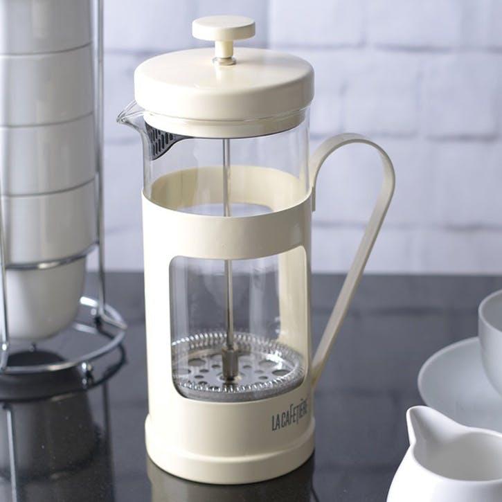 Monaco Cafetiere, Cream, 8 Cup