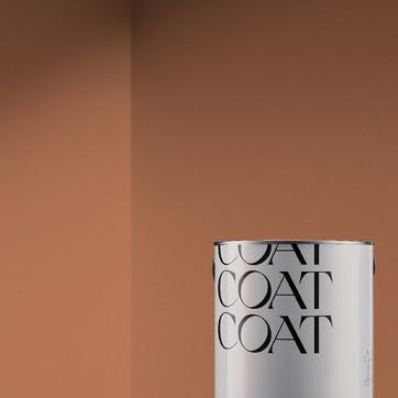 Flat Matt Wall & Ceiling Paint, My Island Dusty Orange 2.5L