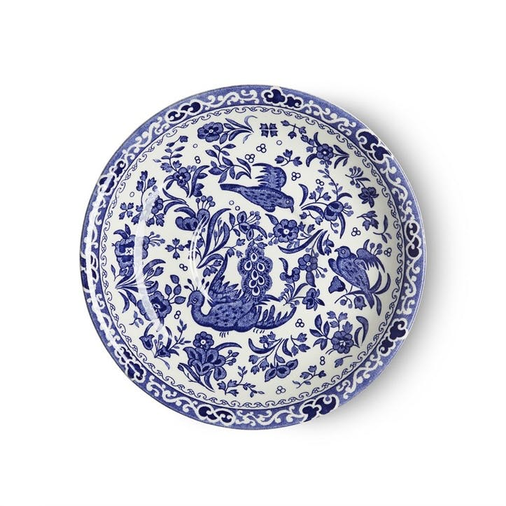 Regal Peacock Breakfast Saucer, Blue