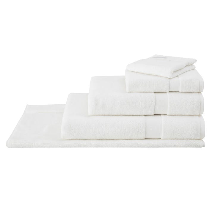 Eden Organic Cotton Ivory Bath Towel