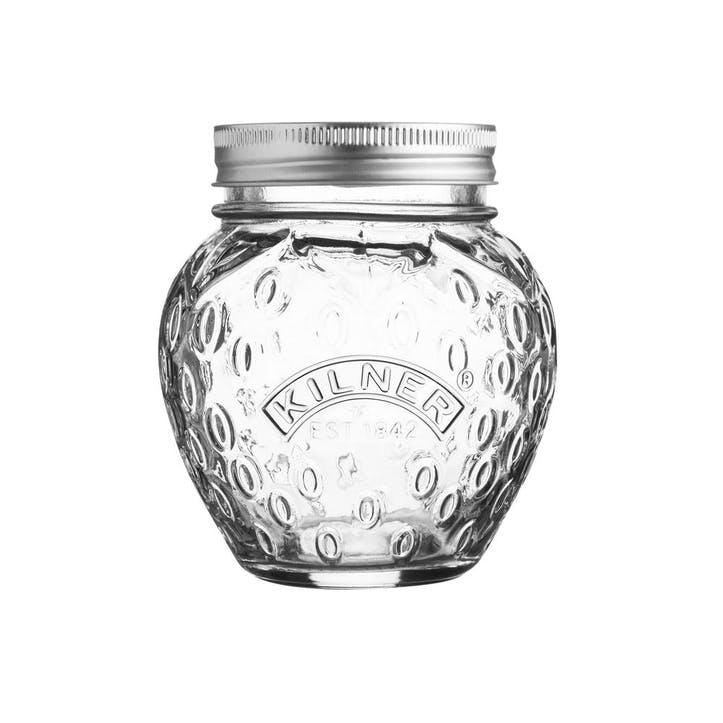 Fruit Preserve Jar, Strawberry