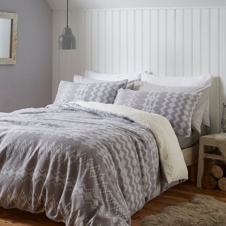 Alpine Fleece Double Bedding Set