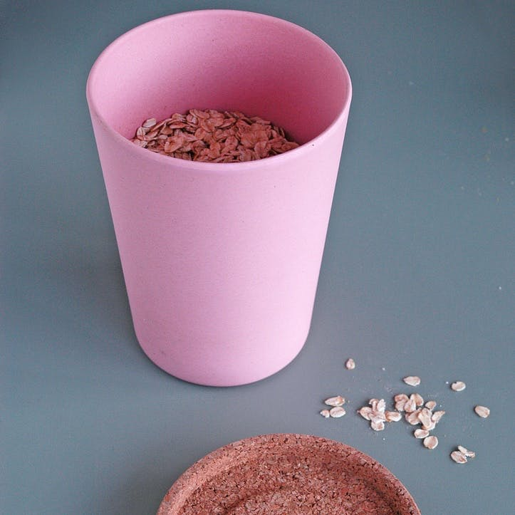 Store & Stack Pot, Large, Pink