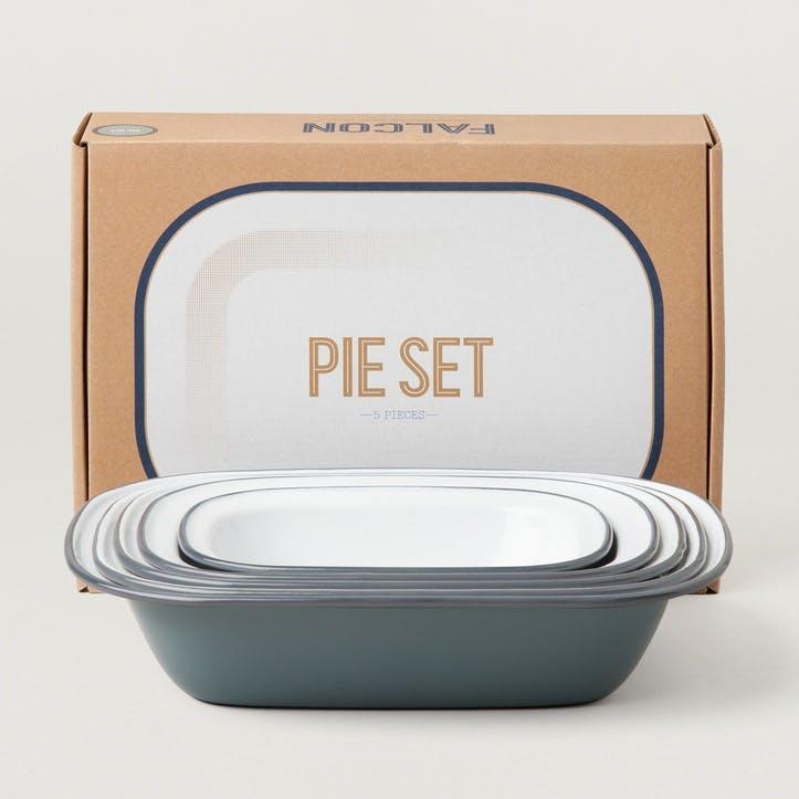 Pie Set, Pigeon Grey