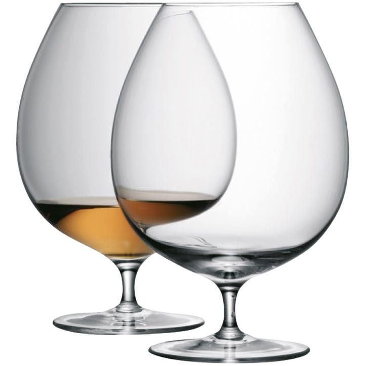 LSA Bar Brandy Glass, 900ml, Set of 2