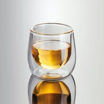 Double Walled Espresso/Shot Glass,  Set of 2