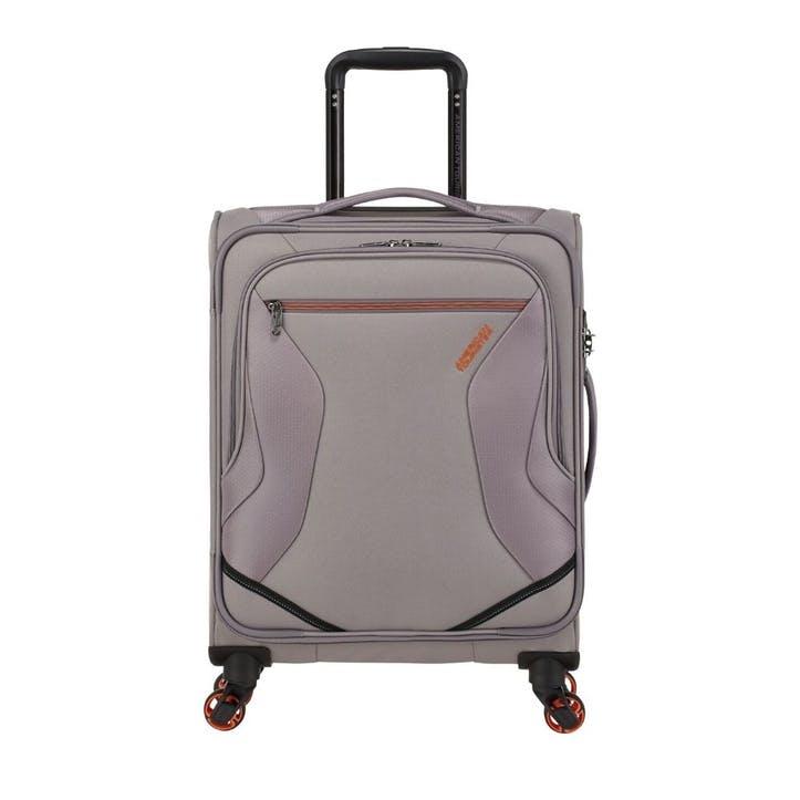 Eco Wanderer Spinner Suitcase, 55cm, Grey