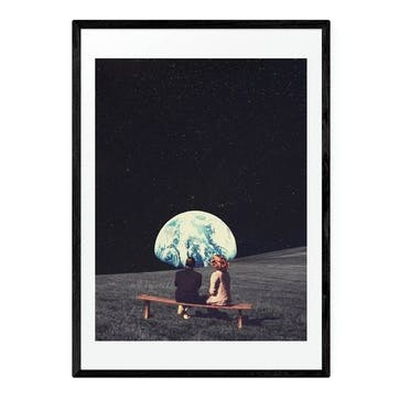 Frank Moth, To Live There Framed Art Print