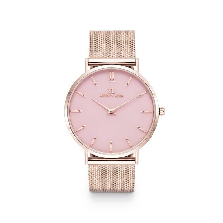 Rose Quartz Chain Watch