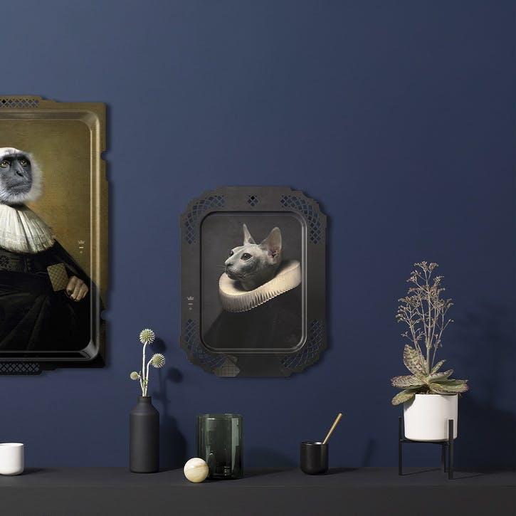 Galerie De Portraits Tray, Le Chat