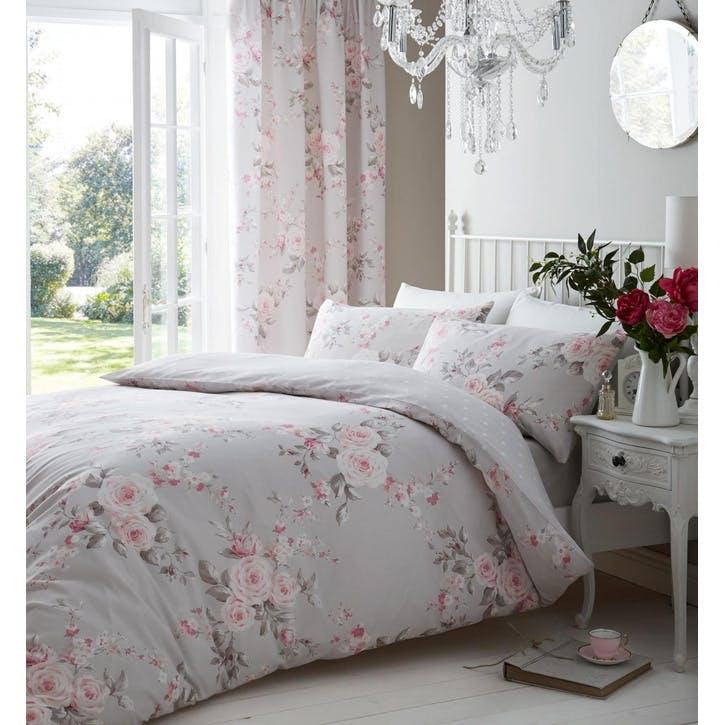 Canterbury Double Bedding Set, Grey