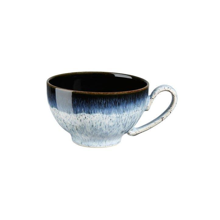 Halo Tea/ Coffee Cup, 200ml, Black/ Blue