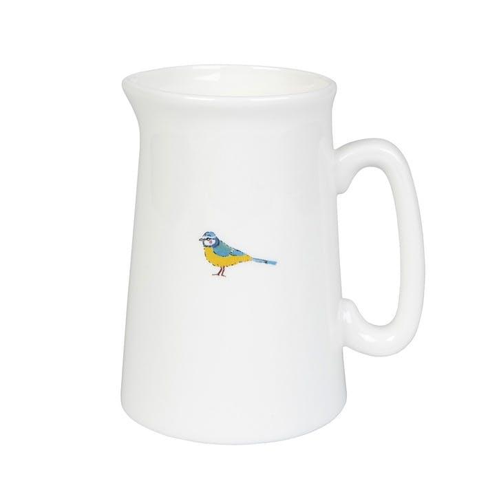 'Garden Birds' Jug, Small