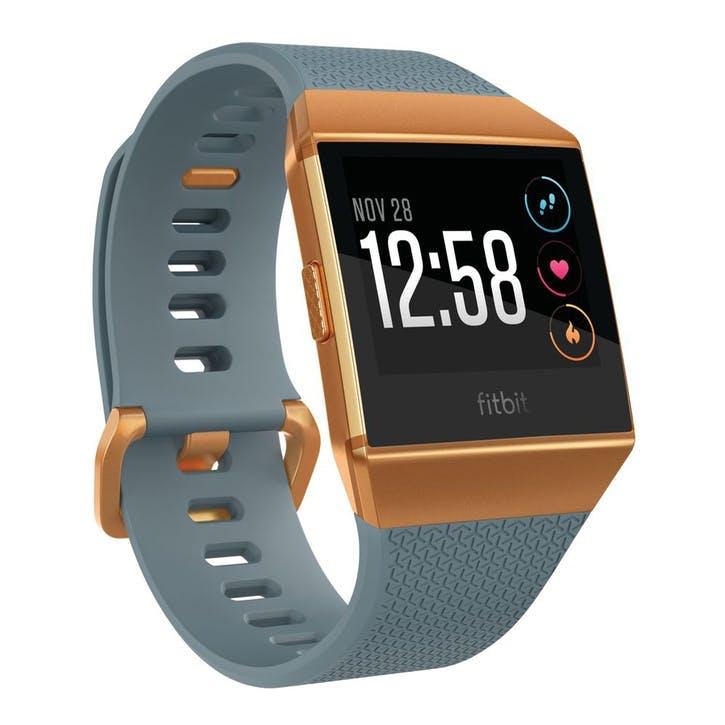 Ionic Smart Watch; Slate Blue & Burnt Orange