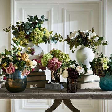 Faux Tortoiseshell Vase