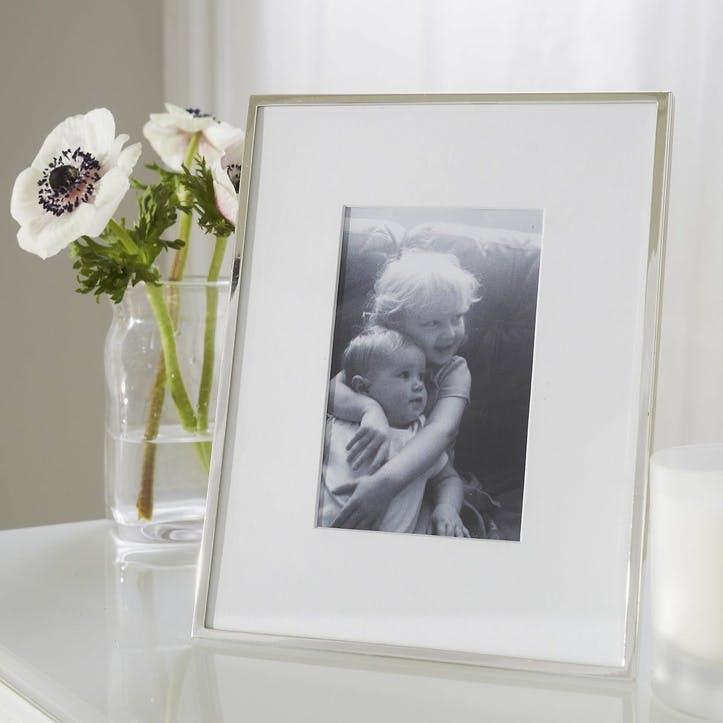 Fine Silver Photo Frame 4x6''