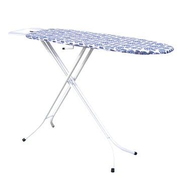 Indigo Geometric Ironing Board