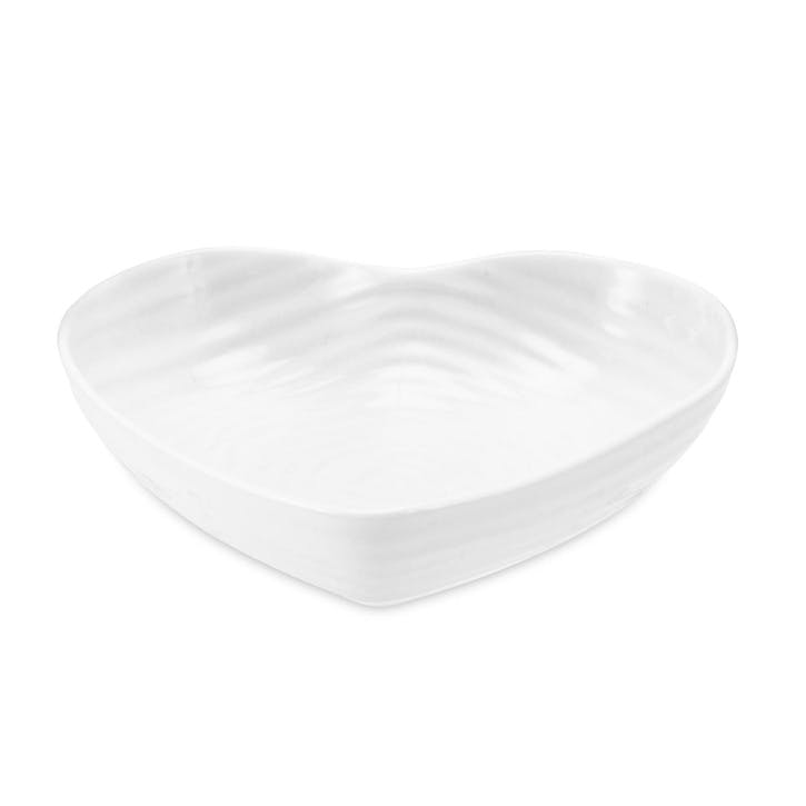 Heart Bowl - Small; White