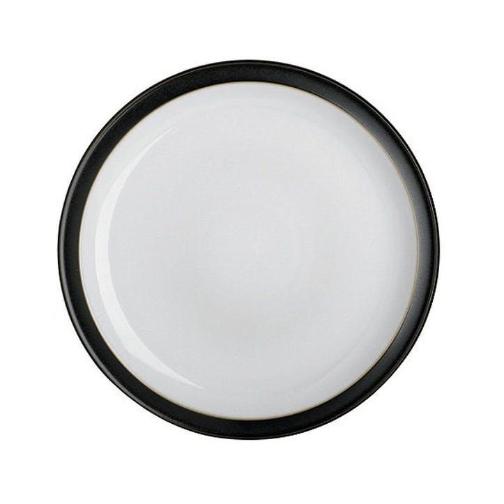 Jet Small Plate, 18.5cm, Black