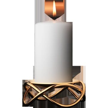 Glow Candleholder, Gold