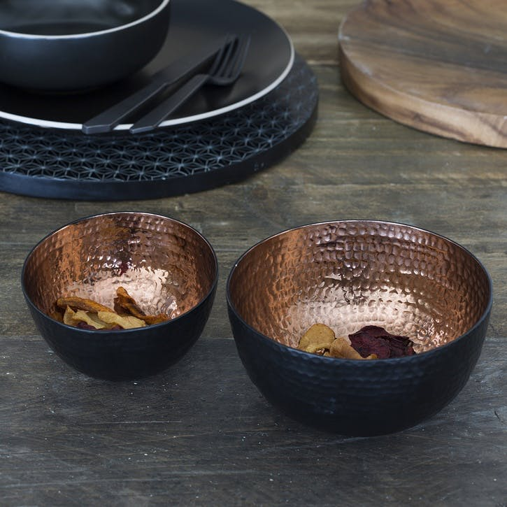 Copper Nesting Bowl, Set of 2