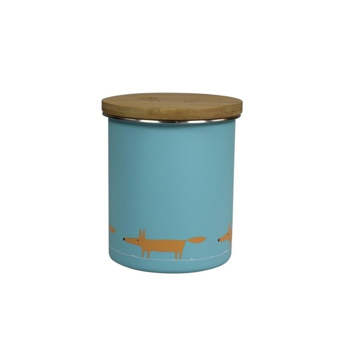 Mr Fox Storage Jar, 1.1L, Blue